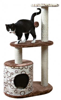 """Mājiņa kaķiem - """"Casta"""" Scratching Post, brūna/bēša krāsa, 95cm"""