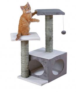 """Mājiņa kaķiem - TRIXIE """"Neo"""" Scratching Post, 71cm, krāsa - pelēka/krēmkrāsa"""