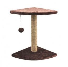 Когтеточка столбик - Pawise Corner Fred cat Scratching Post