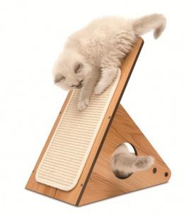 Когтеточка для кошек - Vesper V-Playcenter, walnut
