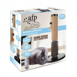 Nagu asināmais - Classic Comfort Mochachino Scratching Post with Rubber Bristles