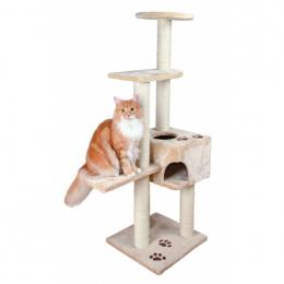 """Mājiņa kaķiem - """"Alicante"""" 142cm (bēša krāsa)"""