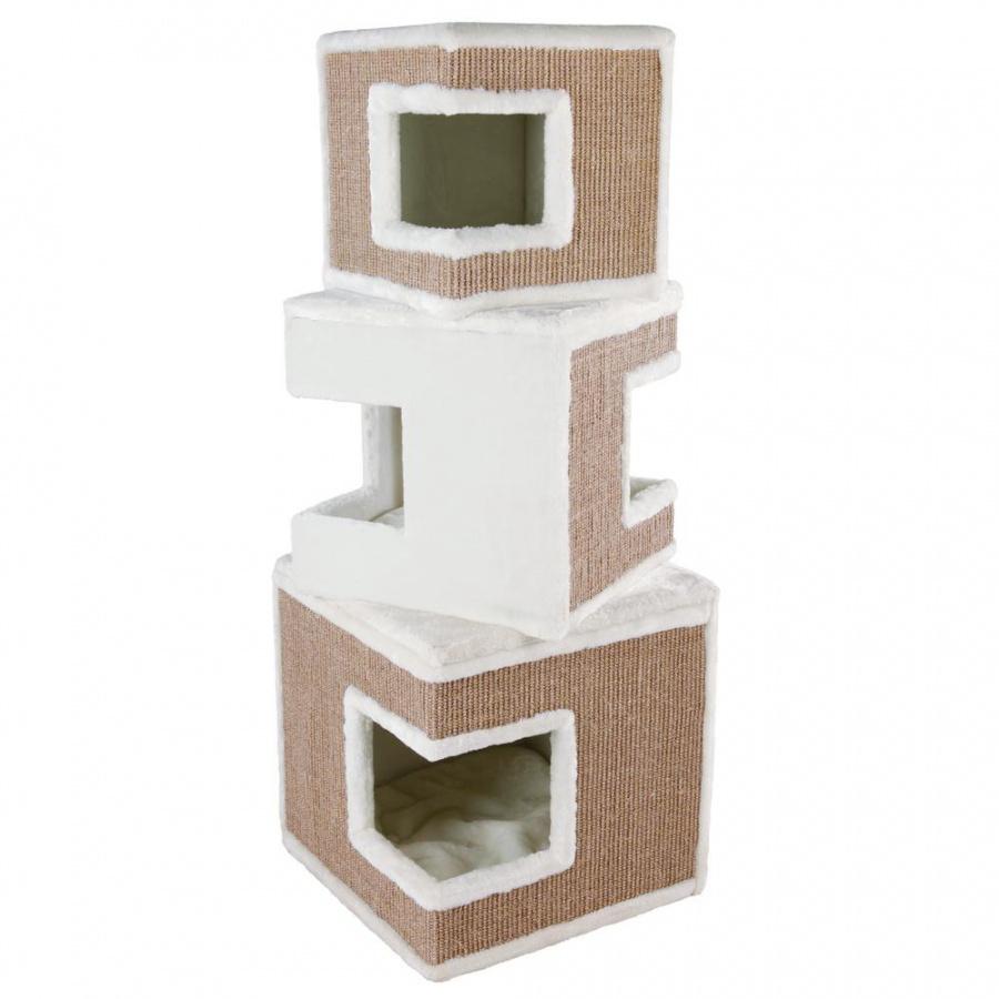 Mājiņa kaķiem - Trixie Lilo Cat Tower, 46*46*123cm