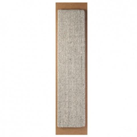 Когтеточка - Sisal Scratching Post Jumbo серый, 17 x 70 см title=