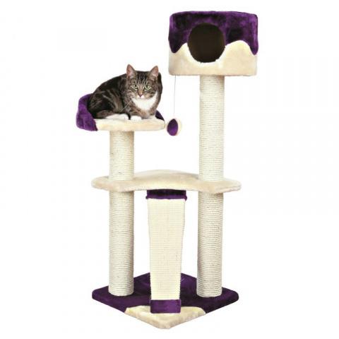 """Домик для кошек - """"Carla"""" Scratching Post, бежевый/фиолетовый, 104cm"""
