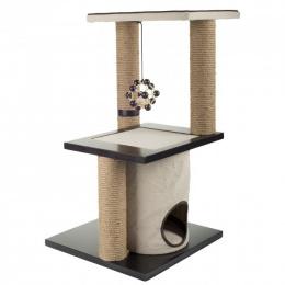 Mājiņa kaķiem - Classic Comfort Two Level Climb and Play Scratcher