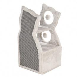 Домик для кошек - TRIXIE Nelia Cat Tower, 61см, цвет - светло-серый