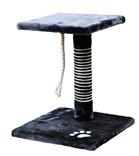 Когтеточка столбик - Trixie Viana, 36*36 cm, антрацит