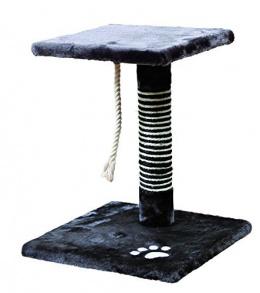 Skrāpēšanas stabs - Trixie Viana Scratching Post, melnā krāsā, 36*36cm