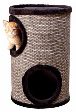 Mājiņa kaķiem - Trixie Cosmo Cat Tower, brūna, 50cm