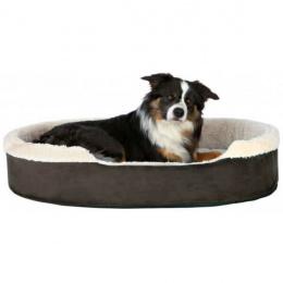 Спальное место для собак - Cosma bed, 100*75cm, темно коричневый/бежевый