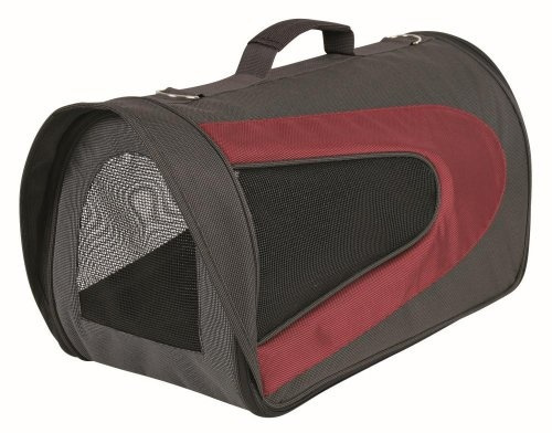 Сумка для транспортировки животных -  Trixie  ' Alina ', 27*27*54 cm (цвет серый-красный)