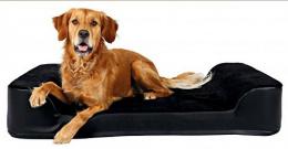Спальное место для собак - Tonio Vital bed, 90*65 cm, черный