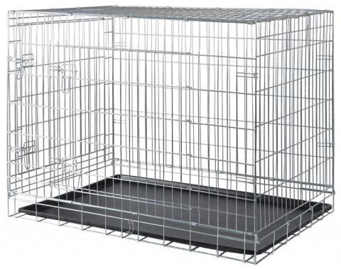 Bokss suņiem - Trixie Transport crate, 116*86*77 cm title=