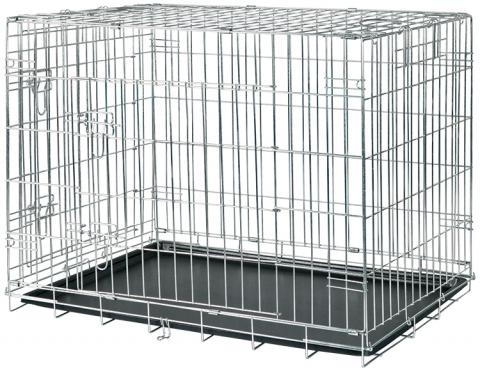 Bokss suņiem - Trixie Transport crate, 93*69*62 cm title=