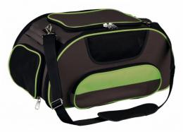 Transportēšanas soma dzīvniekiem - Trixie Wings Airline Carrier, brown/green, 28 x 23 x 46 cm