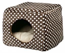 Guļvieta - Trixie Mina Cuddly Cave, brūna/bēša krāsa, 40*32*40cm