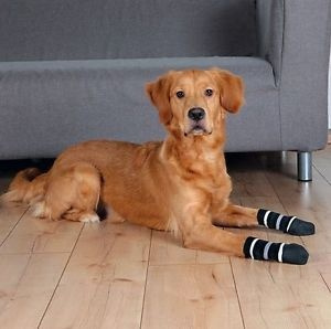 Носочки для собак - Trixie Dog socks, нескользящие, L, 2 шт.