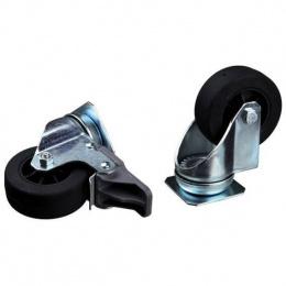 Комплект колес для транспортировочных боксов MPS2 Skudo 4-5-6, 4 шт.