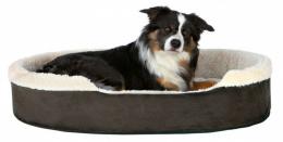 Спальное место для собак - Trixie Cosma bed, 70*55 cm, темно коричневый/бежевый