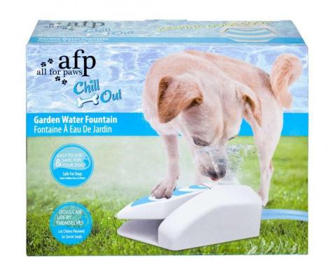 Dzirdinātava suņiem - Chill Out, Garden Fountain, 25,0 x 22,0 x 8,7 cm title=