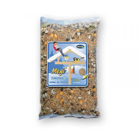 Barība savvaļas putniem - Megan Winter Food Standart, 1 kg