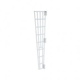 Trixie защитная решетка для окон, боковая панель, 62x16x7 cm, цвет - белый