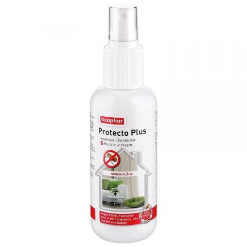 Līdzeklis telpām parazītu iznīcināšanai - Beaphar Protecto Plus, 150 ml