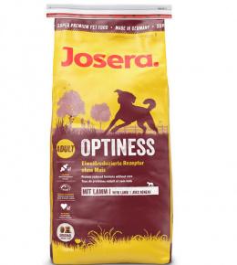 Barība suņiem - Josera Adult Optiness ar jēru, 15kg