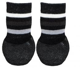 Носочки для собак - Trixie Dog socks, нескользящие, XS–S, 2 шт.
