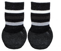Носочки для собак - Trixie Dog socks, нескользящие, S–M, 2 шт