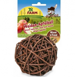Gardums grauzējiem - Mr. Woodfield Wicker Apple Ball, 15 g