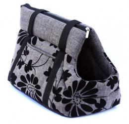 Сумка для транспортировки животных - Amiplay Pet Carrier Bag Euphoria, S 35*21*24, цвет - серый