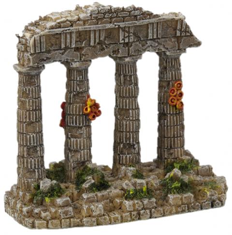 Dekors akvārijam - Aqua Excellent Temple Ruins, 11 cm