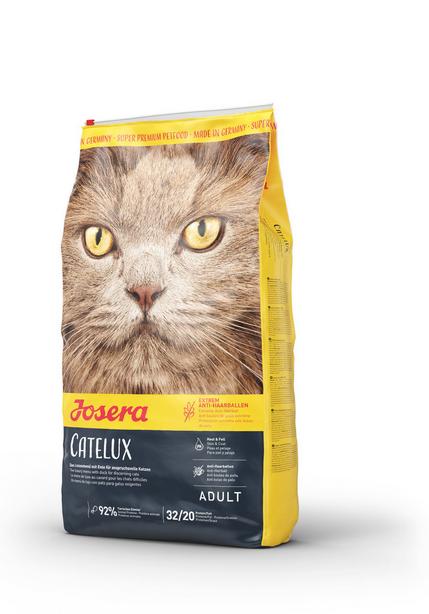Корм для кошек - Josera Catelux (Hairball), 0,4 кг title=