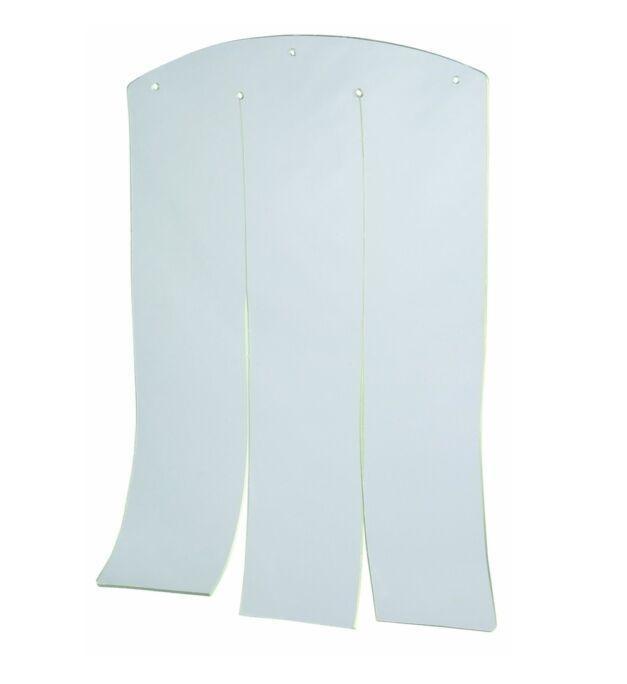 Durvis suņu būdai - Plastic door for dog kennel, 32x43 cm