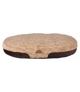Спальное место для собак - TRIXIE Malu cushion, 100*75см, цвет - коричневый / светло-коричневый