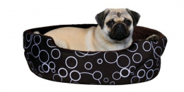 Guļvieta suņiem - Trixie Marino Bed, 55*45 cm, brūna krāsa