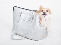 Transportēšanas soma dzīvniekiem - Amiplay Pet Carrier Bag Venus, L 42*26*30, krāsa - sudraba