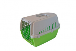 Транспортировочная переноска - Trotter 1,  lime green - grey, 49*33*30 см