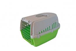Транспортировочный бокс для животных - Savic, Trotter 1, lime green - grey, 49 x 33 x 30 см