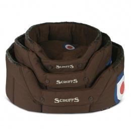 Guļvieta suņiem - Scruffs Aviator Donut Bed (S), 46*36*20 cm