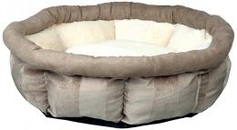 Guļvieta dzīvniekiem – TRIXIE Leona Bed, Brown/Cream, 45 cm