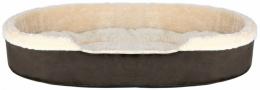 Спальное место для собак - Cosma bed, 85*65 cm, темно коричневый/бежевый