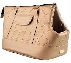 Transportēšanas soma dzīvniekiem - Amiplay Pet Carrier Bag Venus, L 42*26*30, zelta krāsa