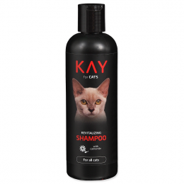 Šampūns kaķiem – KAY Shampoo for Cats, Revitalizing, 250 ml