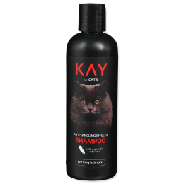 Šampūns kaķiem – KAY Shampoo for Cats, Anti-Tangling Effects, 250 ml