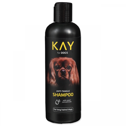 Šampūns suņiem – KAY Shampoo Anti-Tangle, 250 ml title=
