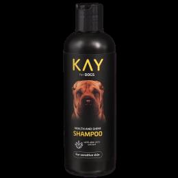 Šampūns suņiem – KAY Shampoo Health and Shine, 250 ml
