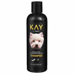 Šampūns suņiem - KAY Shampoo for White Colored Dogs, 250 ml